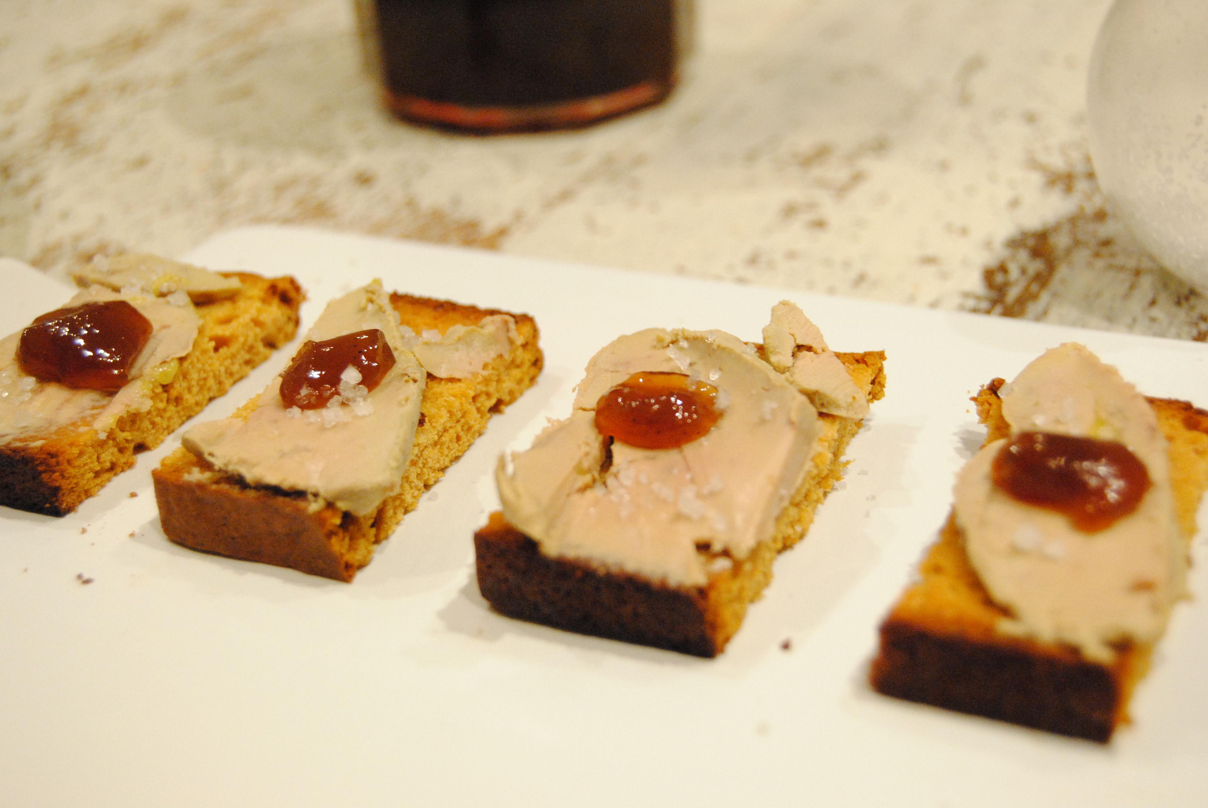 Zak De Nol 1 Toast De Foie Gras Revisit Happy Fridge