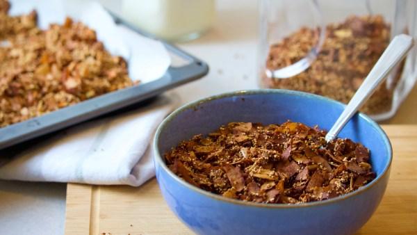 Chocolate Amaranth Granola