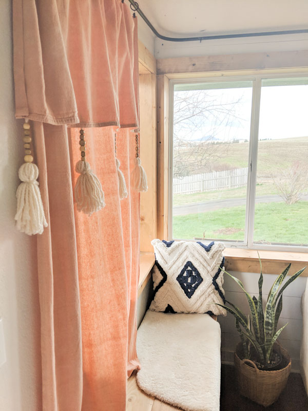 Diy Drop Cloth Curtains Diy Home Decor My Happy Simple Living