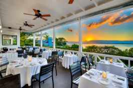 Sunset dining at Rock House