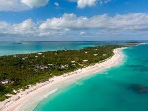 Harbour Island aerial shot