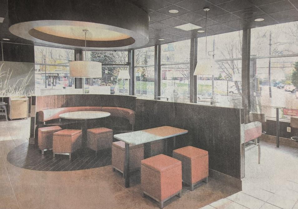 McDonald's New Interior