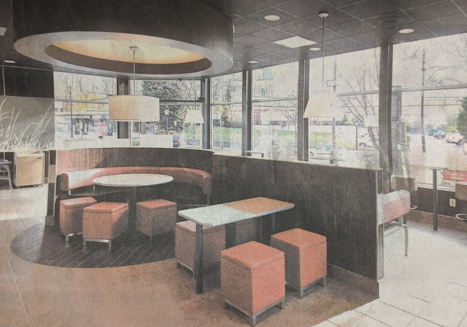 McDonald's New Interior