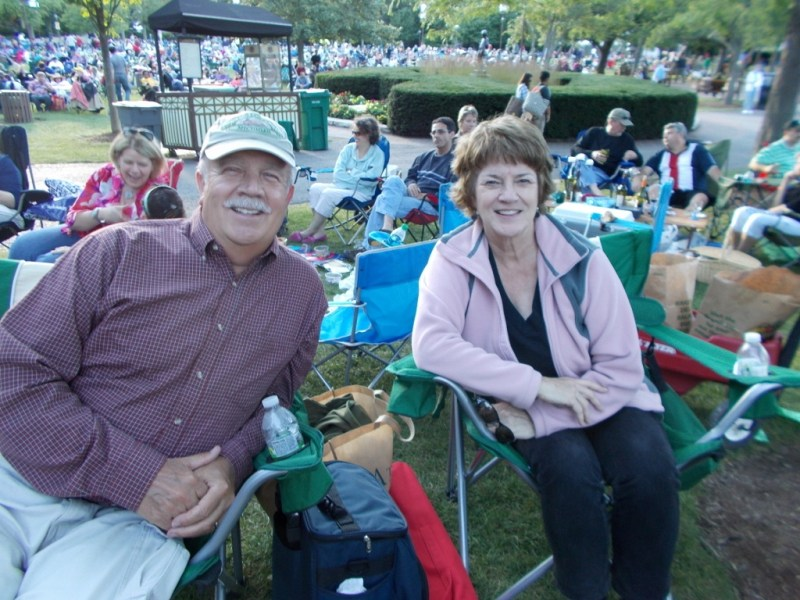 August 2013 Buddy Guy Ravinia Concert