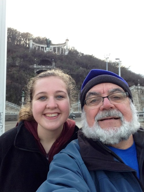 Phil Troyer spent 4 weeks with Granddaughter Dana C., UW LaCross student who is ending her fall semester at Phillips University, Marburg, Germany.