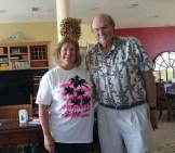 Jeanne Pankanin visited John Gelch near St George Island, FL, in March 2016.