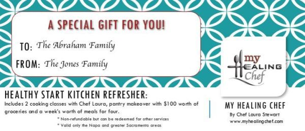Kitchen Refresher Gift Certificate