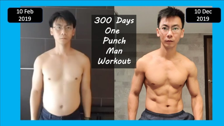 everyday sean one punch man workout
