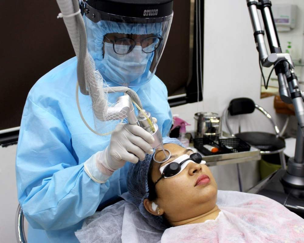 surgery to make hair grow on scars