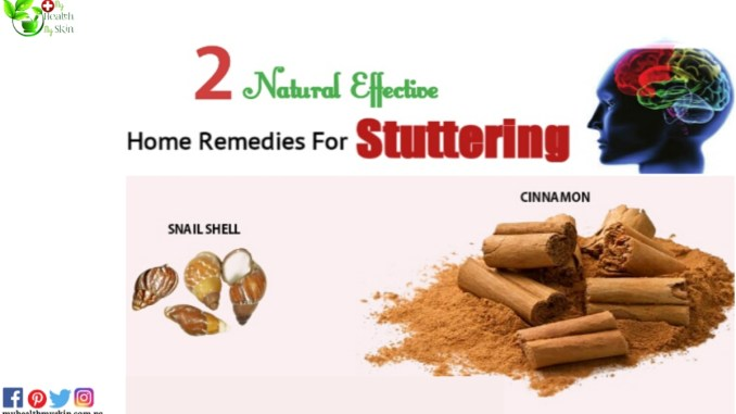 Natural Remedies For Stuttering