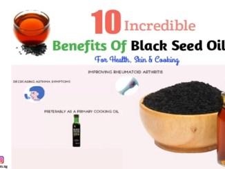 health benefits of black seed oil