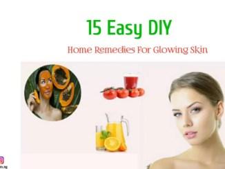 glowing skin DIY