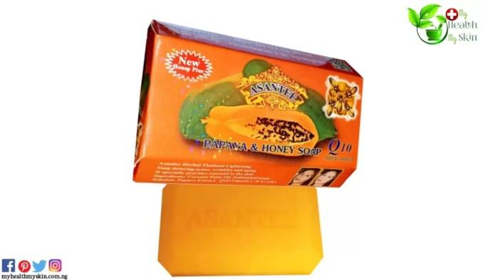 Asantee Papaya & Honey Soap
