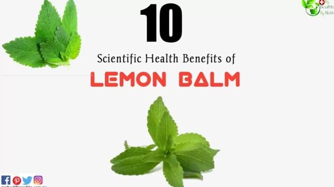 health benefits of lemon balm