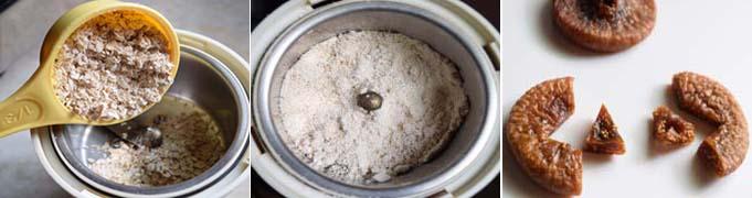 How to make Oats Fig Porridge Step 1