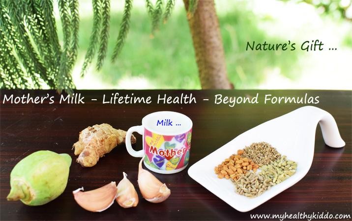 Mothers Milk- Lactation Diet