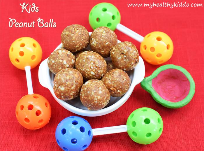 Kids Peanut balls kadalai urundai 4