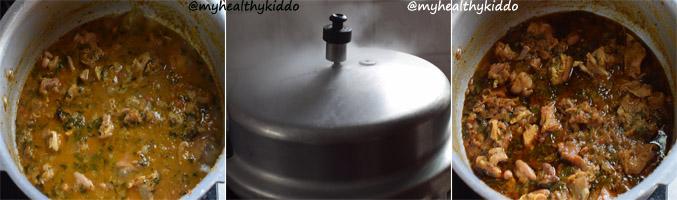 How to make Muslim Style Mutton Biriyani Step 10