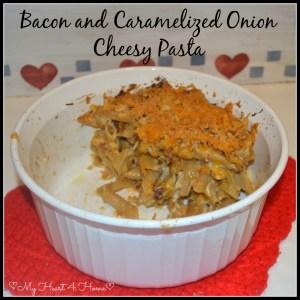 Bacon & Caramel Onion Cheesy Mac