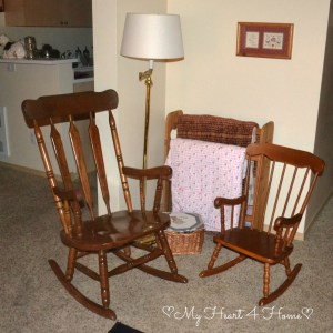 Rockers and Quilt Rack