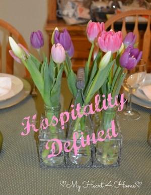 Defining Hospitality