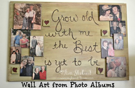 Wall Art from Photo Albums Masterpiece
