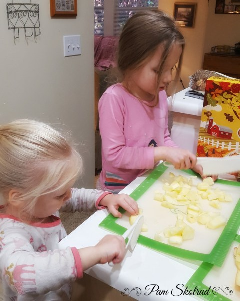 12-chopping-apples-for-the-stuffing-with-their-kid-knives