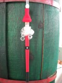 Chopstick Santa Ornament