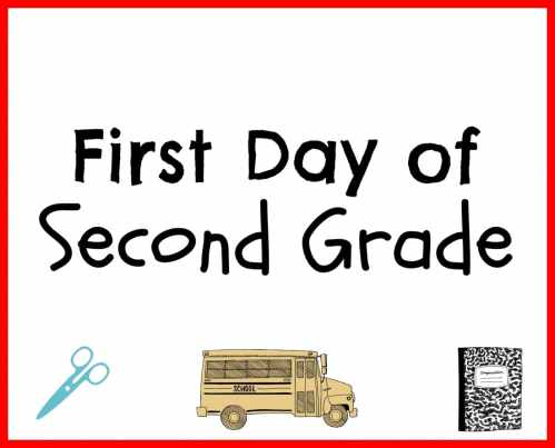 small resolution of First Day Back to School Printables - My Heavenly Recipes