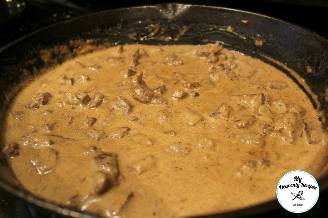 beef stroganoff recipe without the mushrooms my heavenly recipes