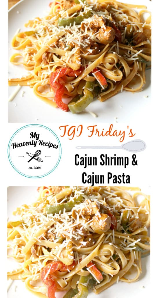 Tgi Fridays Cajun Chicken Pasta And Shrimp