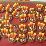 Turkey Pretzels Thanksgiving Treats Video My Heavenly Recipes