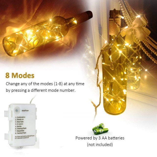 KooPower Battery Operated LED Lights