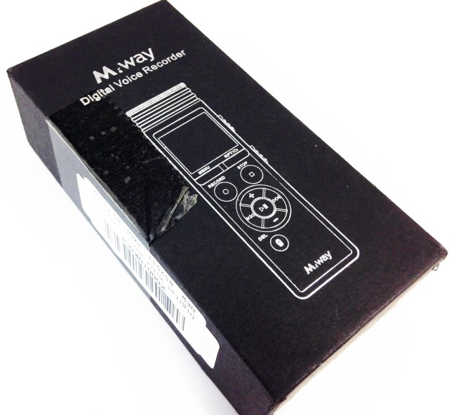 M.Way Digital Voice Recorder