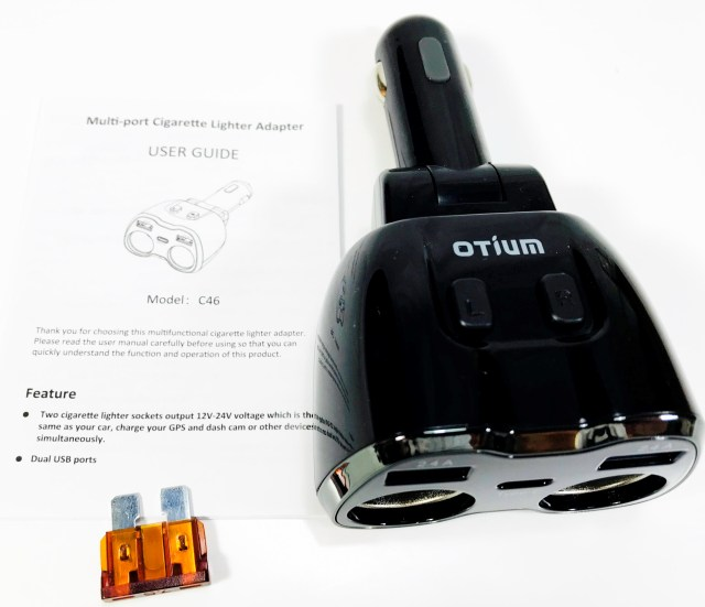 Otium Car Socket Adapter