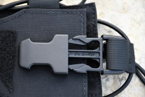 The UTX D-Flex buckle used is great at keeping your bottle secure inside the HUNTERZ