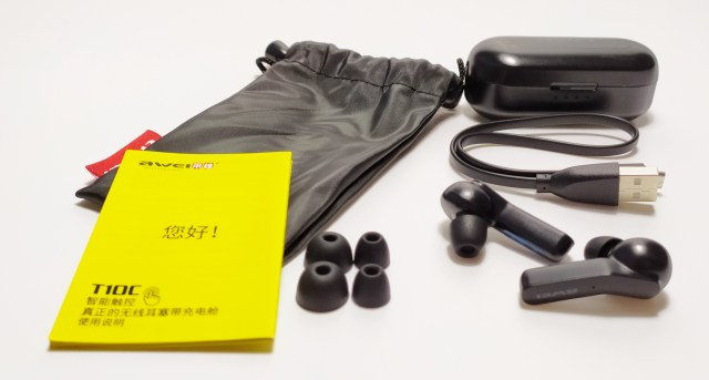 AWEI T10C Bluetooth Earphones
