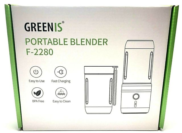 GREENIS Portable Blender F-2280