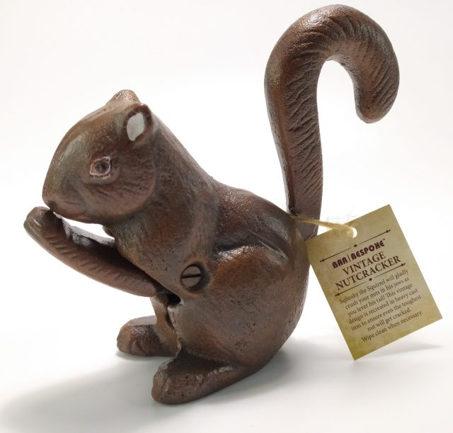 Bespoke Squirrel Nutcracker.
