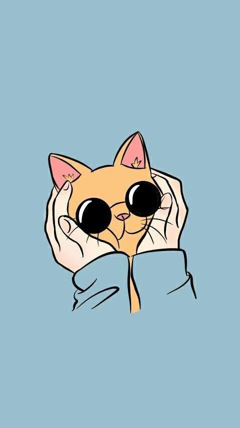 gambar wallpaper kucing 2020