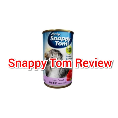review makanan kucing snappy tom