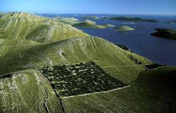 Landscape Kornati National Park
