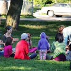dance circle kiddies