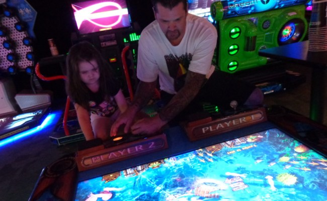 An Afternoon At Dave And Busters Food And Games For All