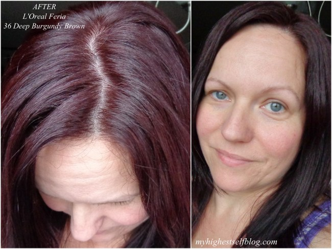 Feria Deep Burgundy Brown Hair Color