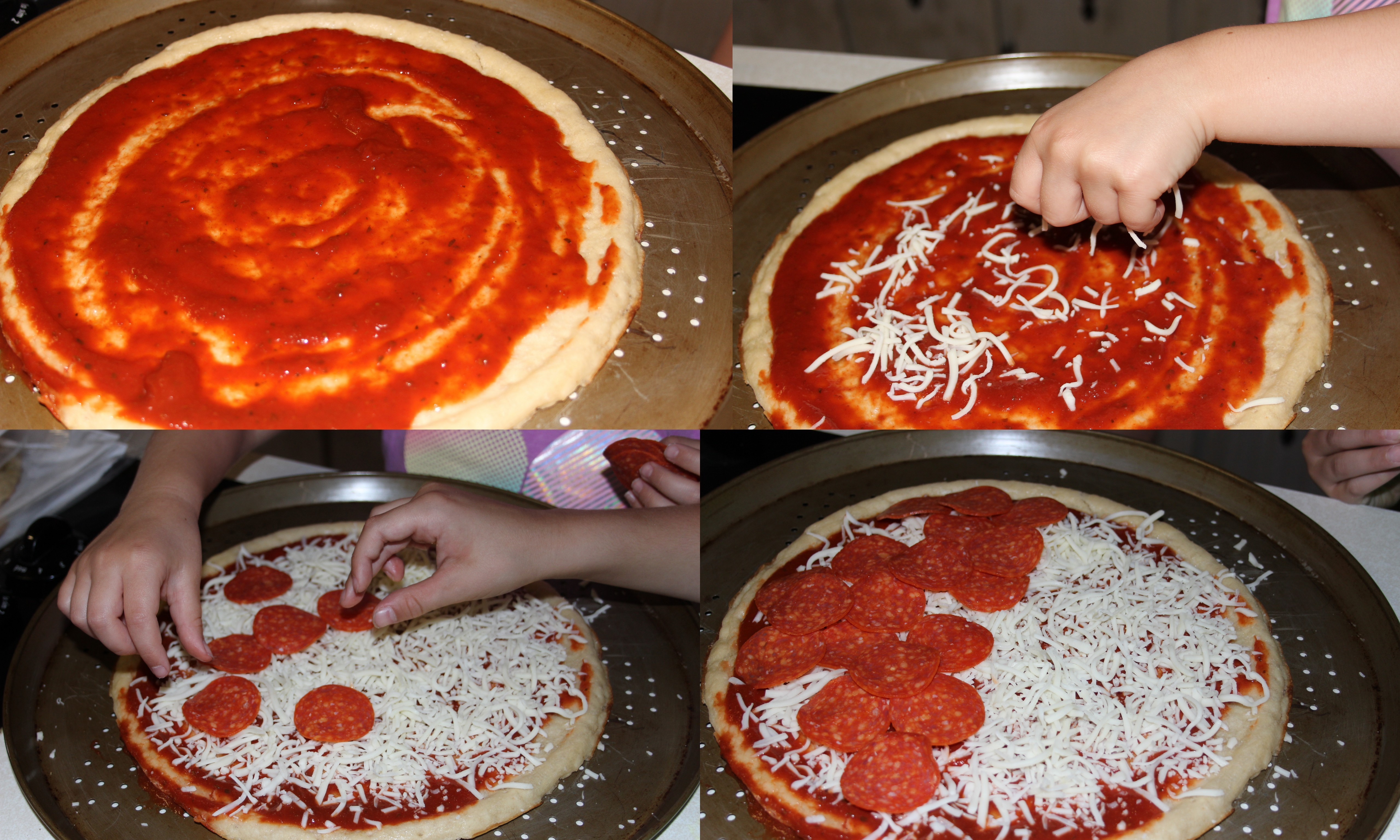 Make Your Own Pizza With Rustic Crust