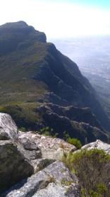 Newlands ravine, dark gorge and dunno what else to Devil's Peak