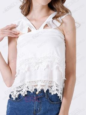 http://www.ericdress.com/product/Ericdress-White-Lace-Trim-Vest-12202461.html