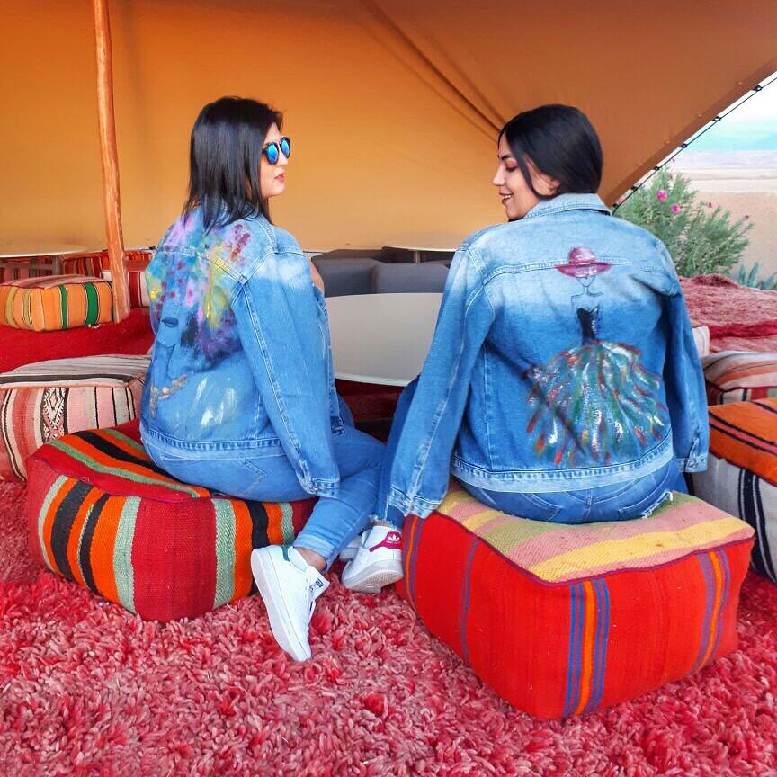 Strike the pose in THE matchy matchy denim jacket byhellip