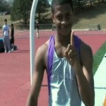 Central's Deverell Biggs Shows His Bounce On Track at Burke Relays